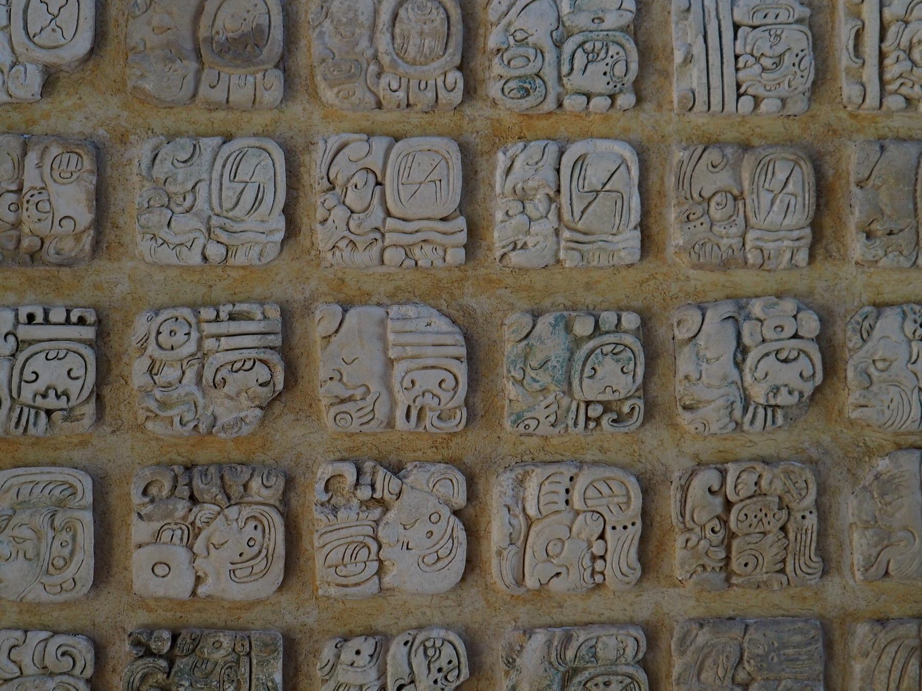 Die Schriftzeichen der Maya