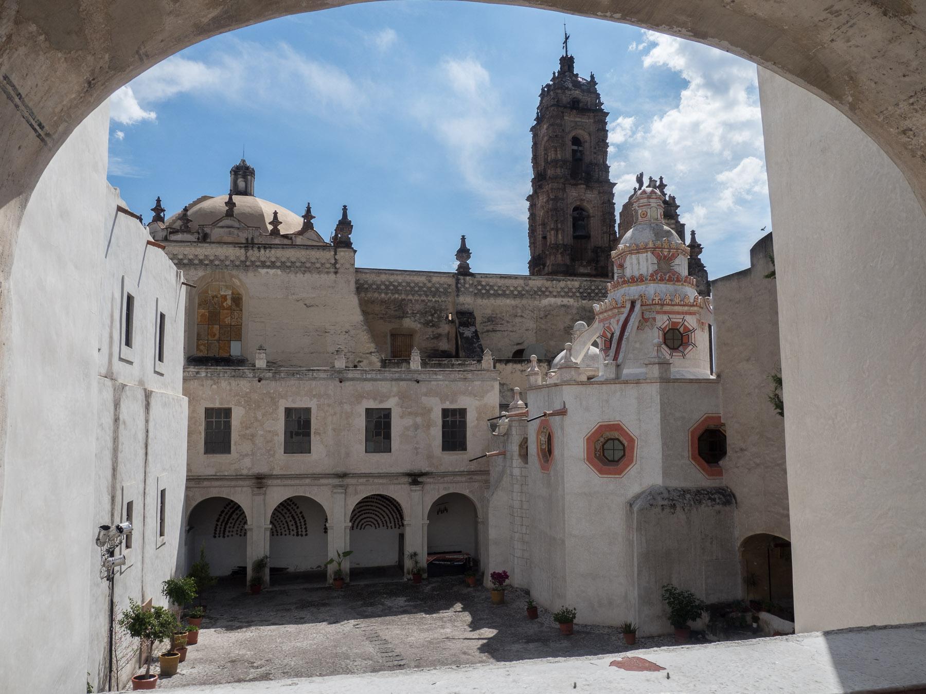 Altes Jesuitenkloster in Tepotzotlan