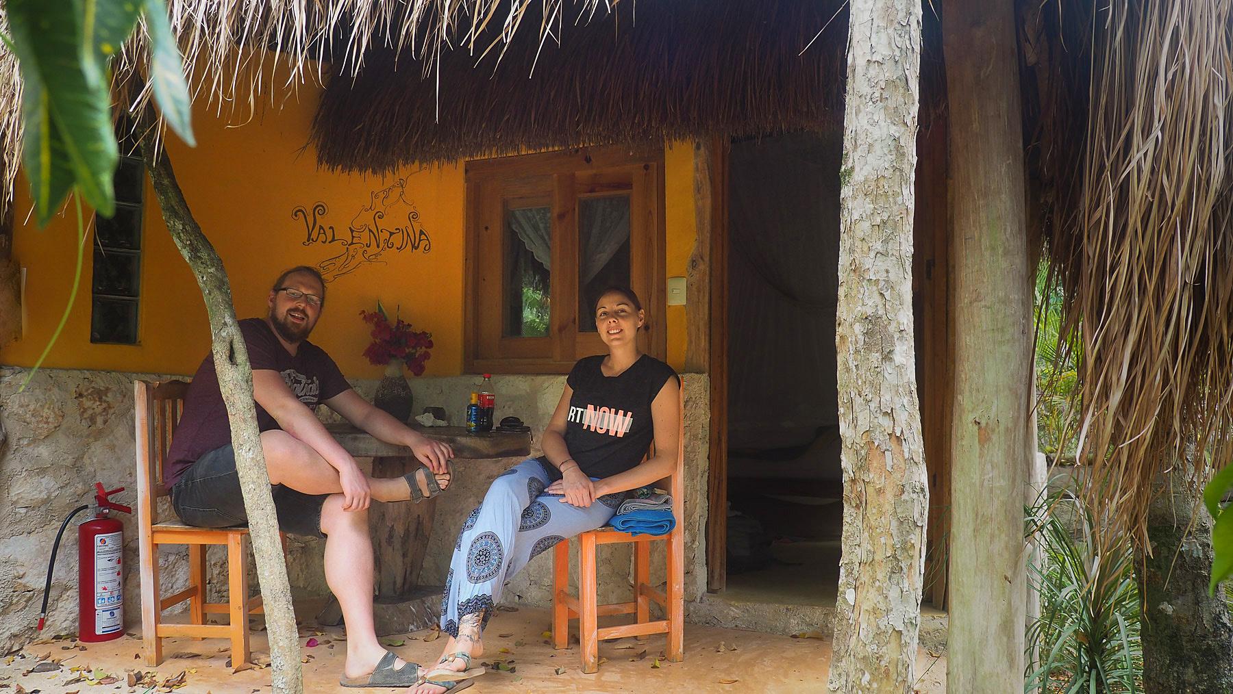 Nettes Ambiente im Casa Mango