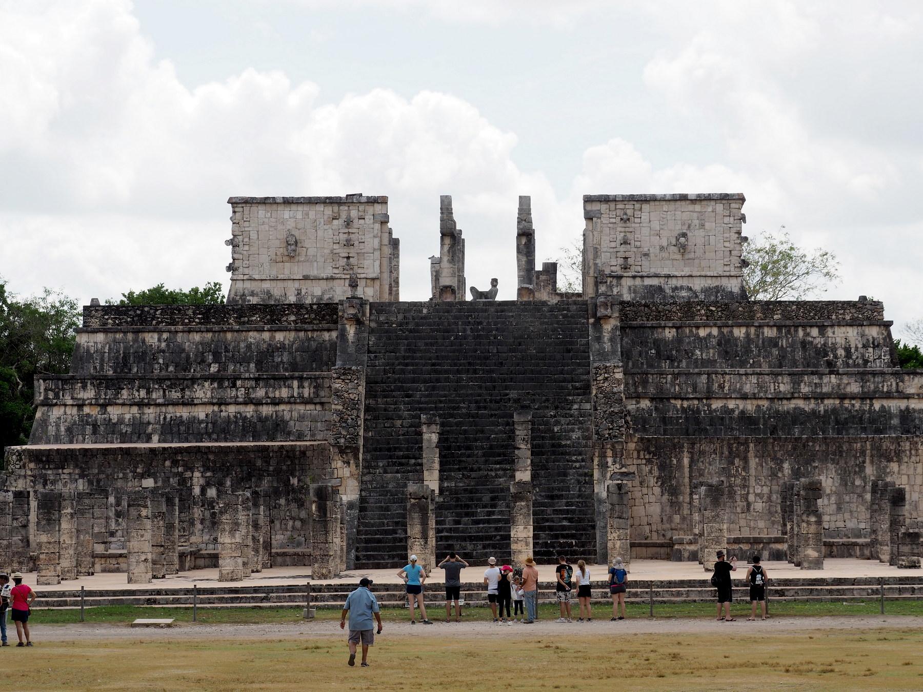 Gut restaurierte Bauwerke