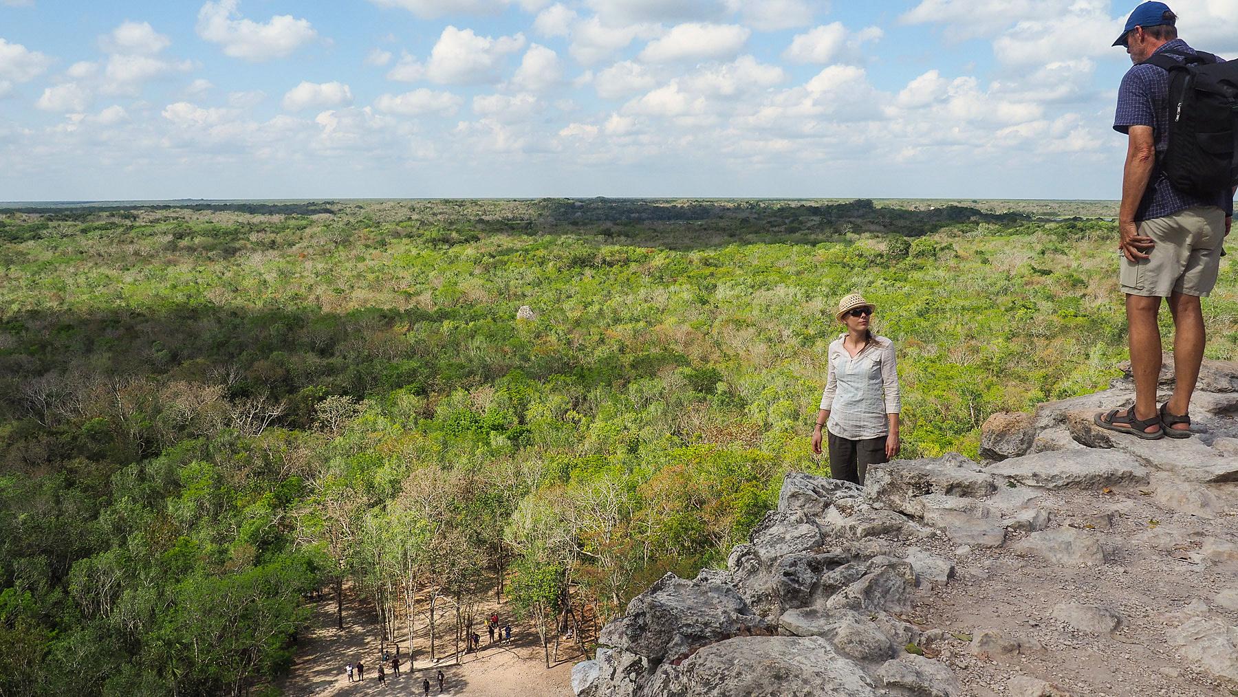 Weiter Blick (Yucatan ist flach)