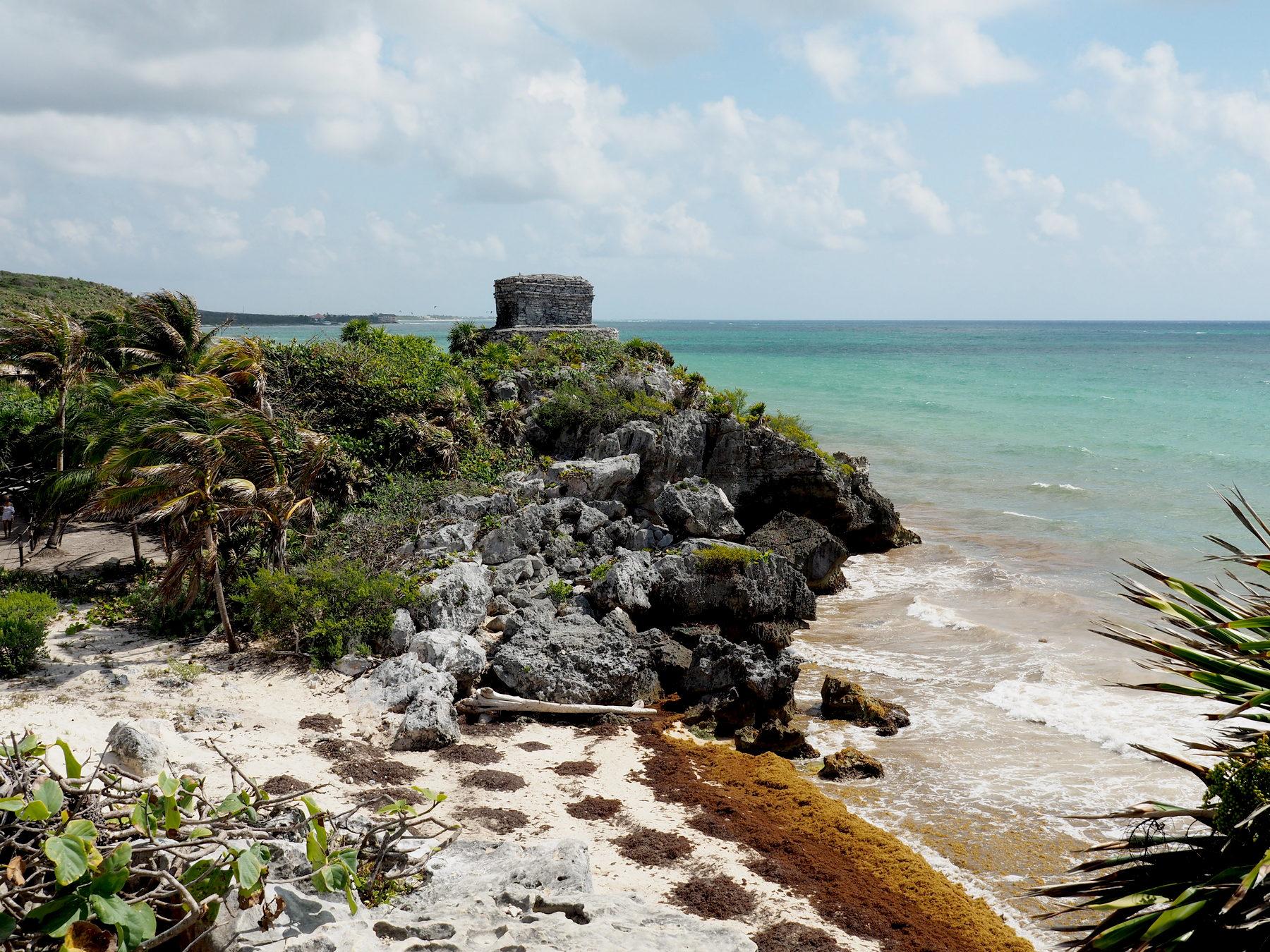 Tulum - Ruinen direkt am Meer