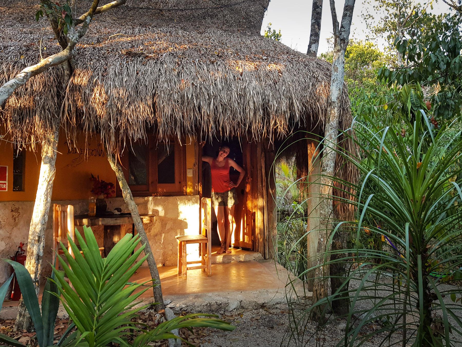 Liebevoll eingerichtete Cabanas