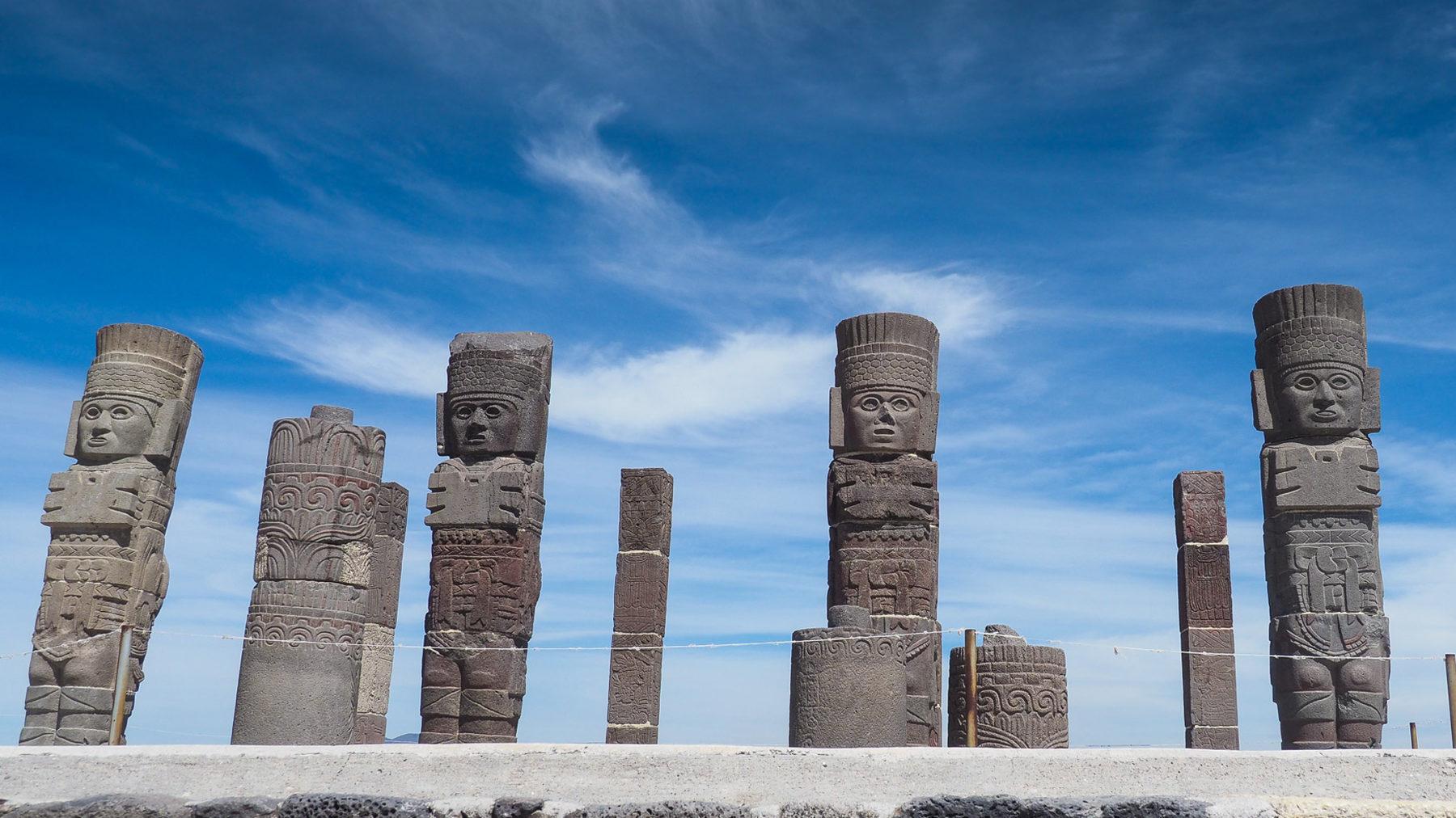Die Krieger der Tolteken in Tula