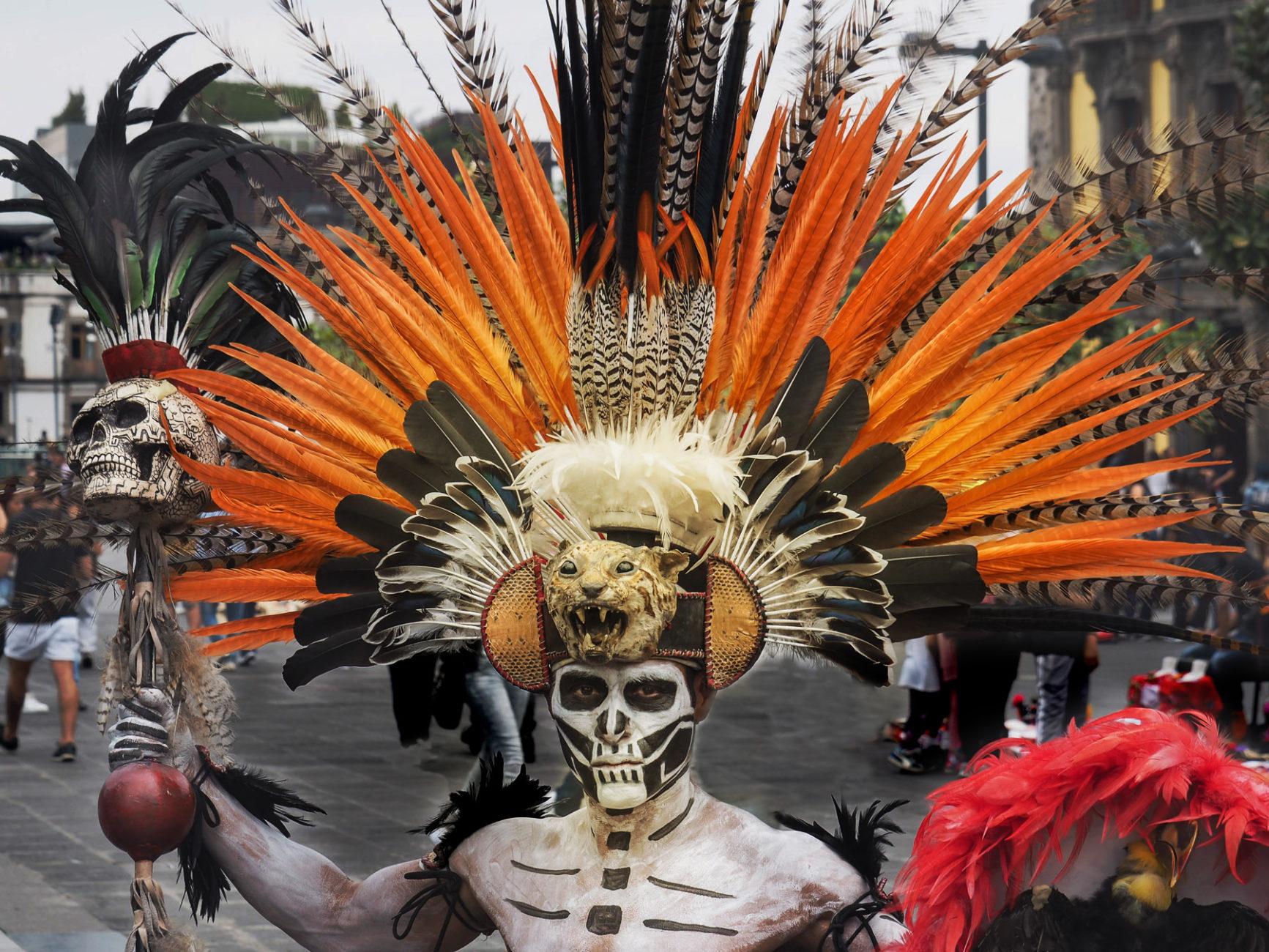Wilde Gestalten aus der aztekischen Vergangenheit