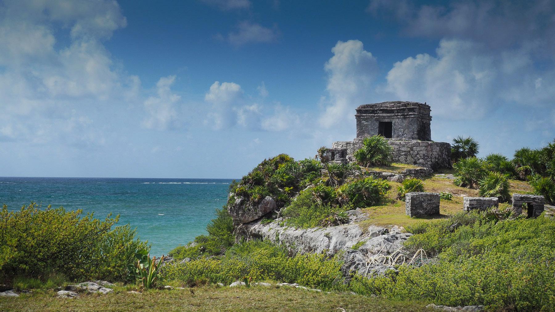 Maya-Ruinen in Tulum