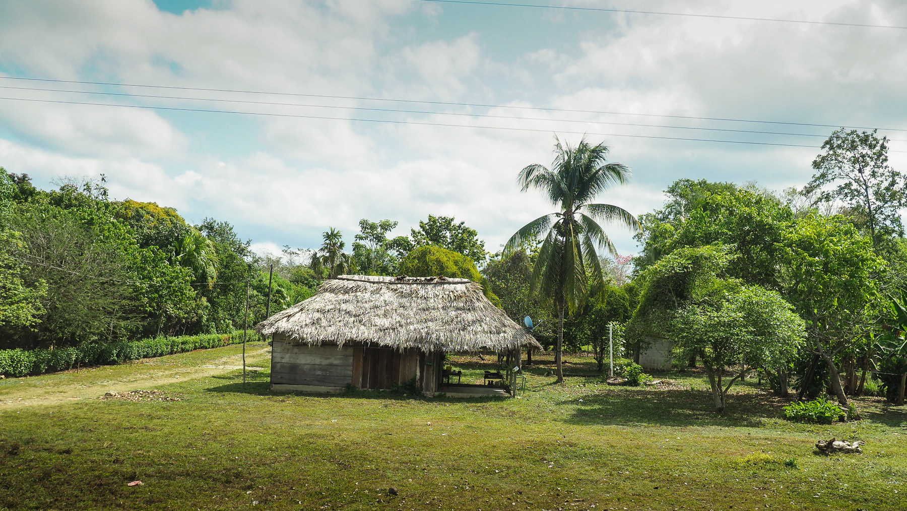 Einfache, saubere, nette Dörfer in Chiapas