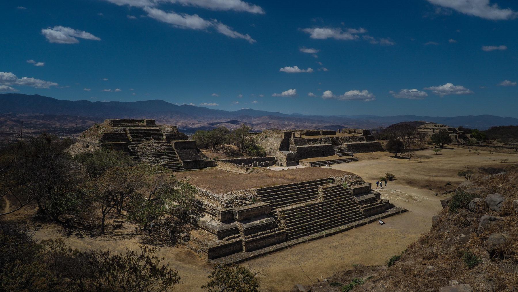 Monte Alban bei Oaxaca, ehem. Hauptstadt der Zapoteken