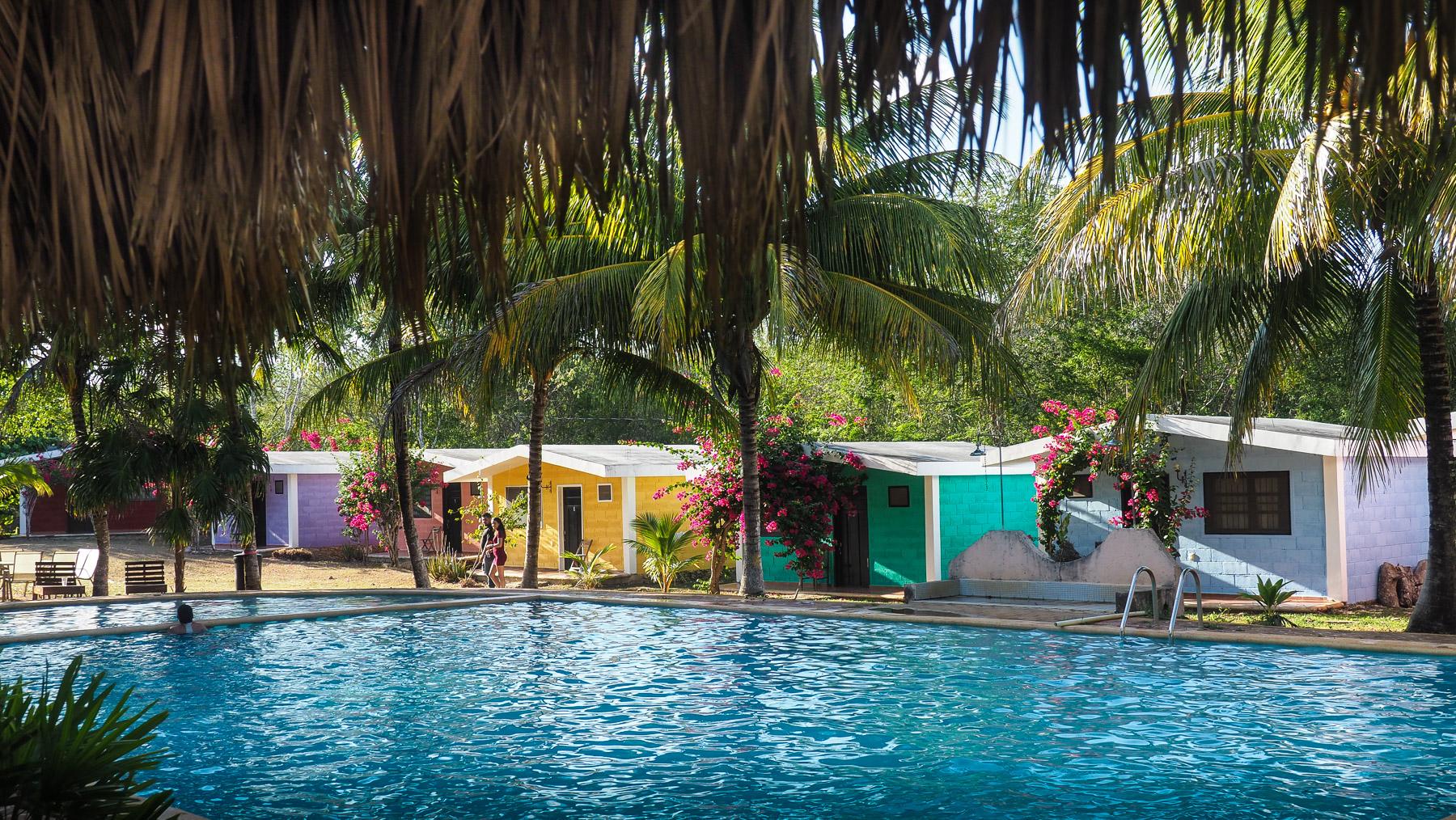 Unterkunft an der Cenote Suytun