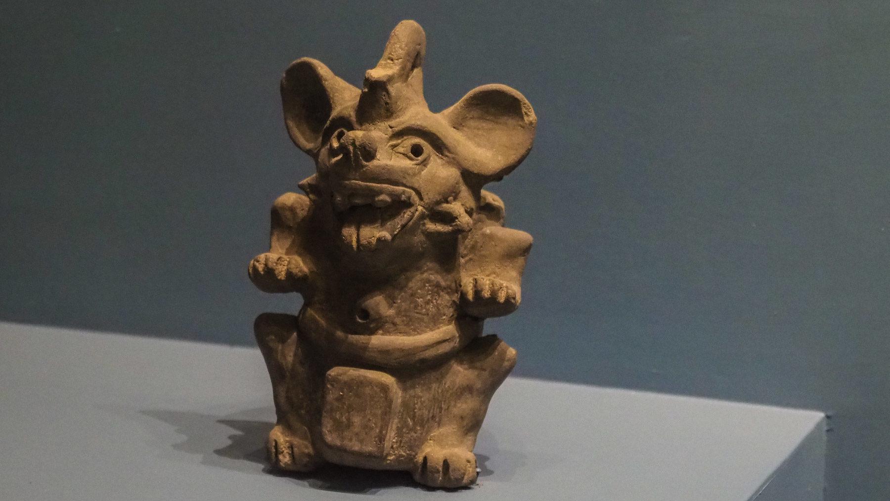 Fundstücke vom Mount Alban: Micky Mouse Dämon?