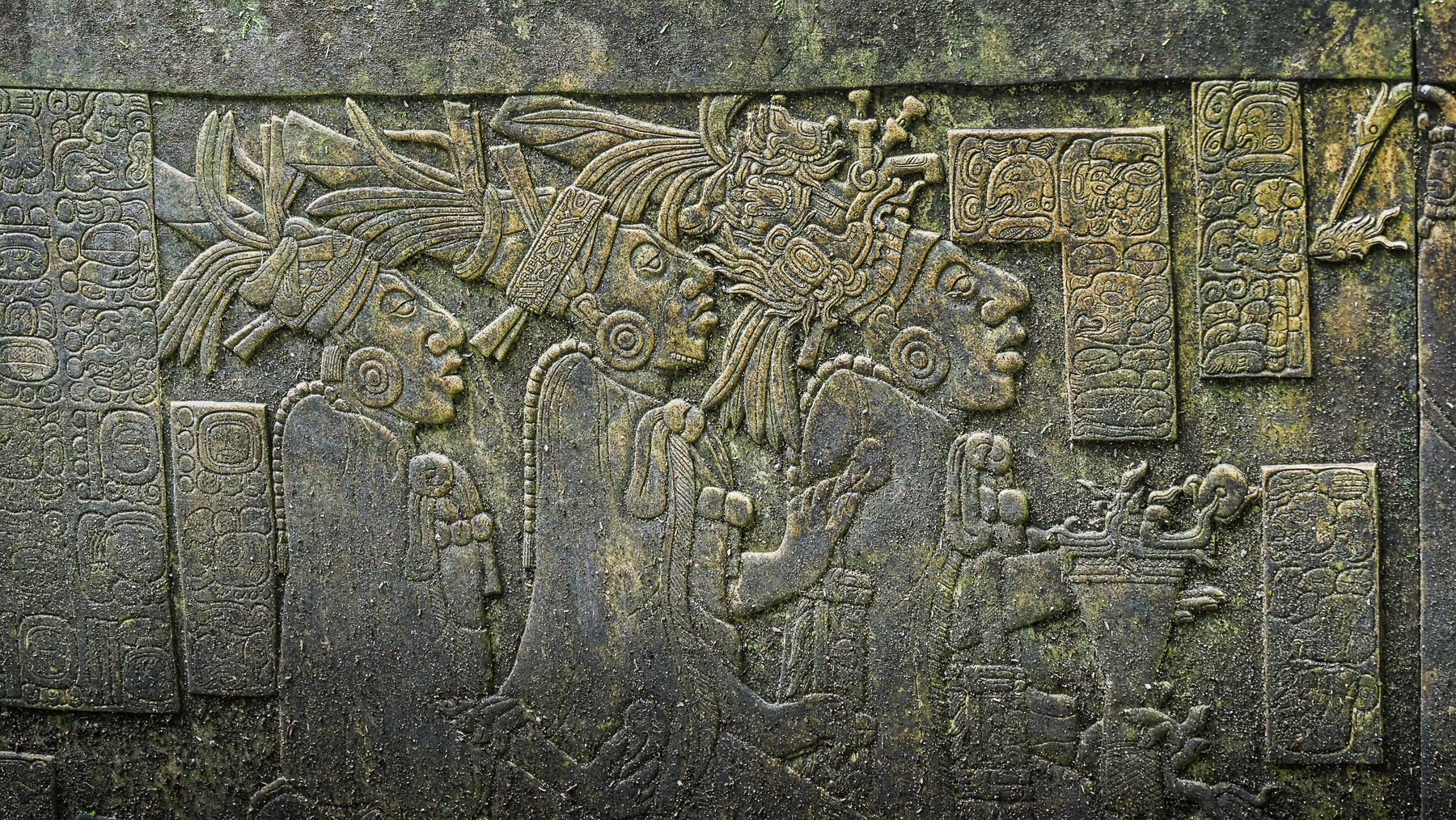 Altarrelief in Palenque
