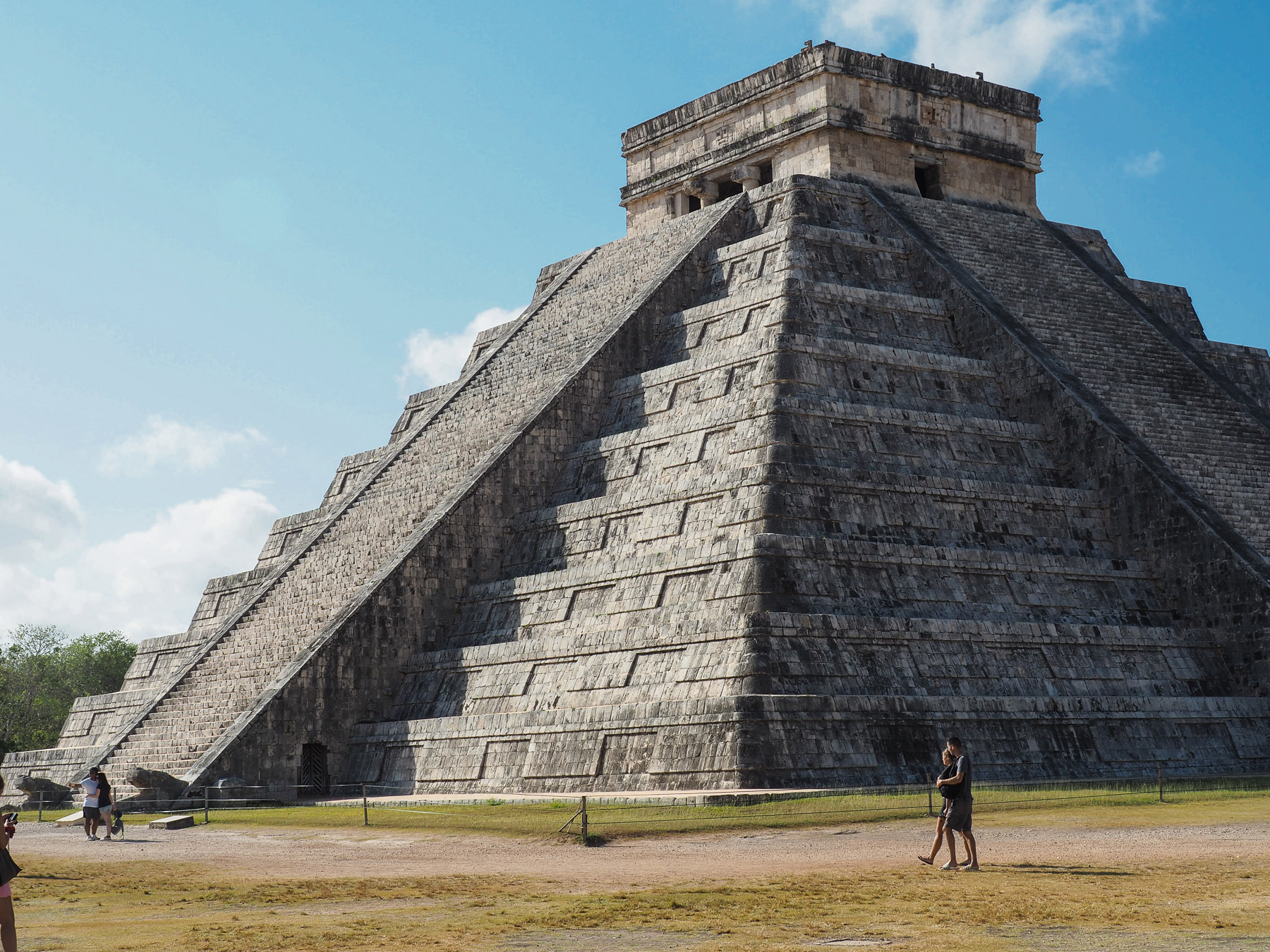 Perfekte Pyramide und Maya-Kalender in Chichen Itza