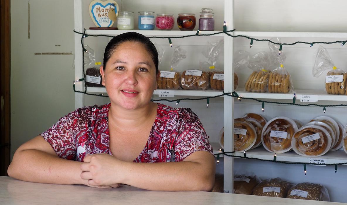Marissa (30) hat vier Kinder (14,13,12,9) und ist alleinerziehend