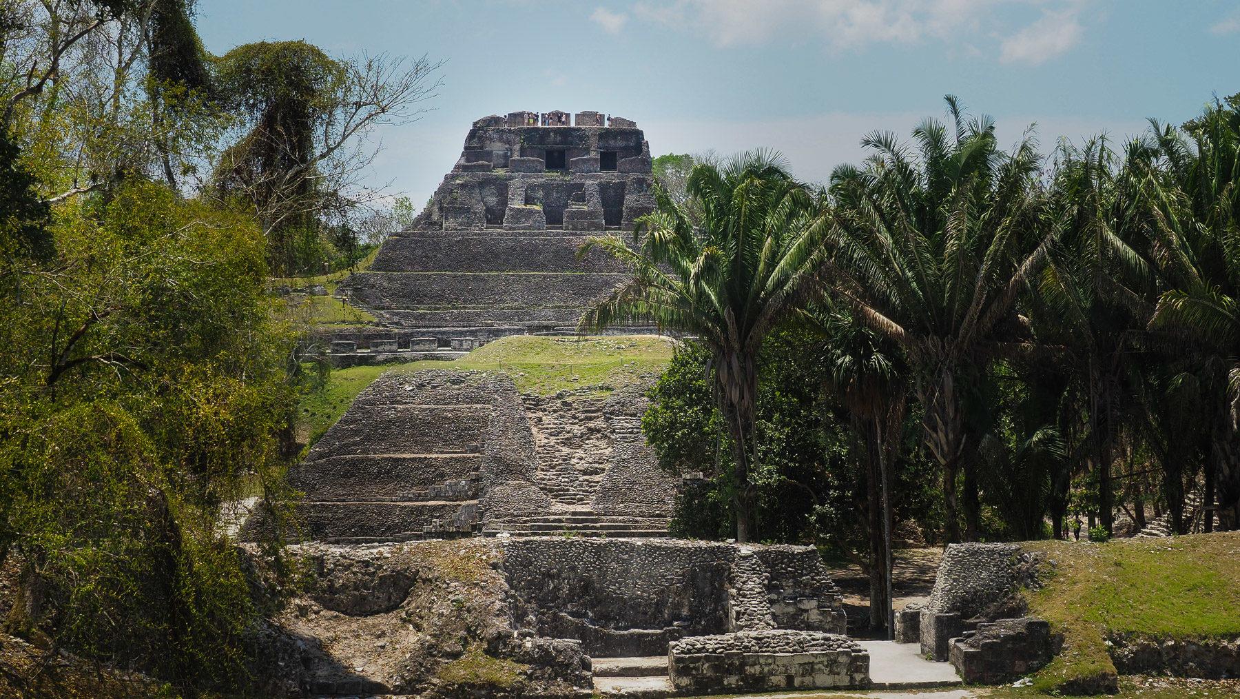 Zurück im Dschungel: Die Ruinen von Xunantunich