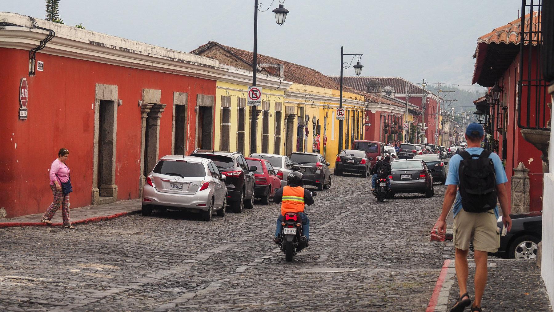Antigua und sein Kopfsteinpflaster