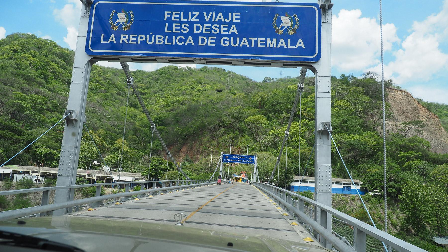 Grenzübergang nach El Salvador