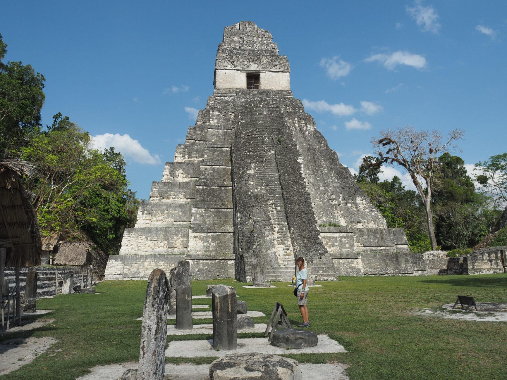 Beeindruckendes Tikal