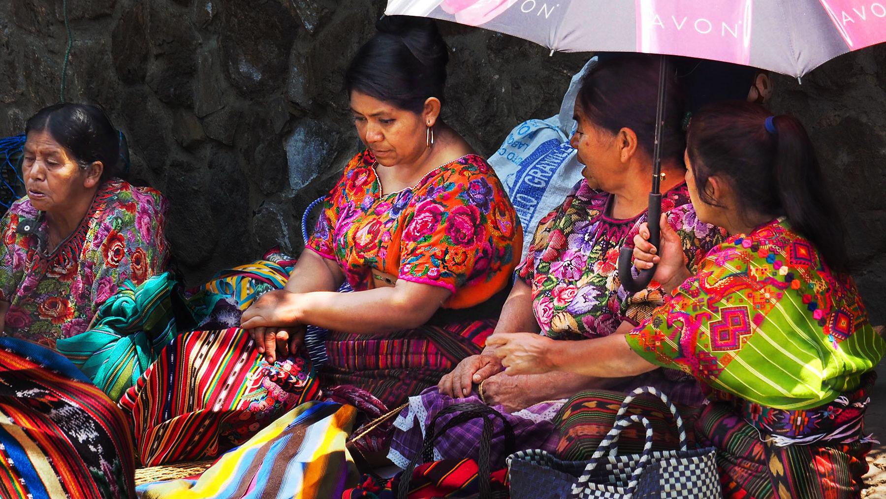 Bauersfrauen auf dem Markt