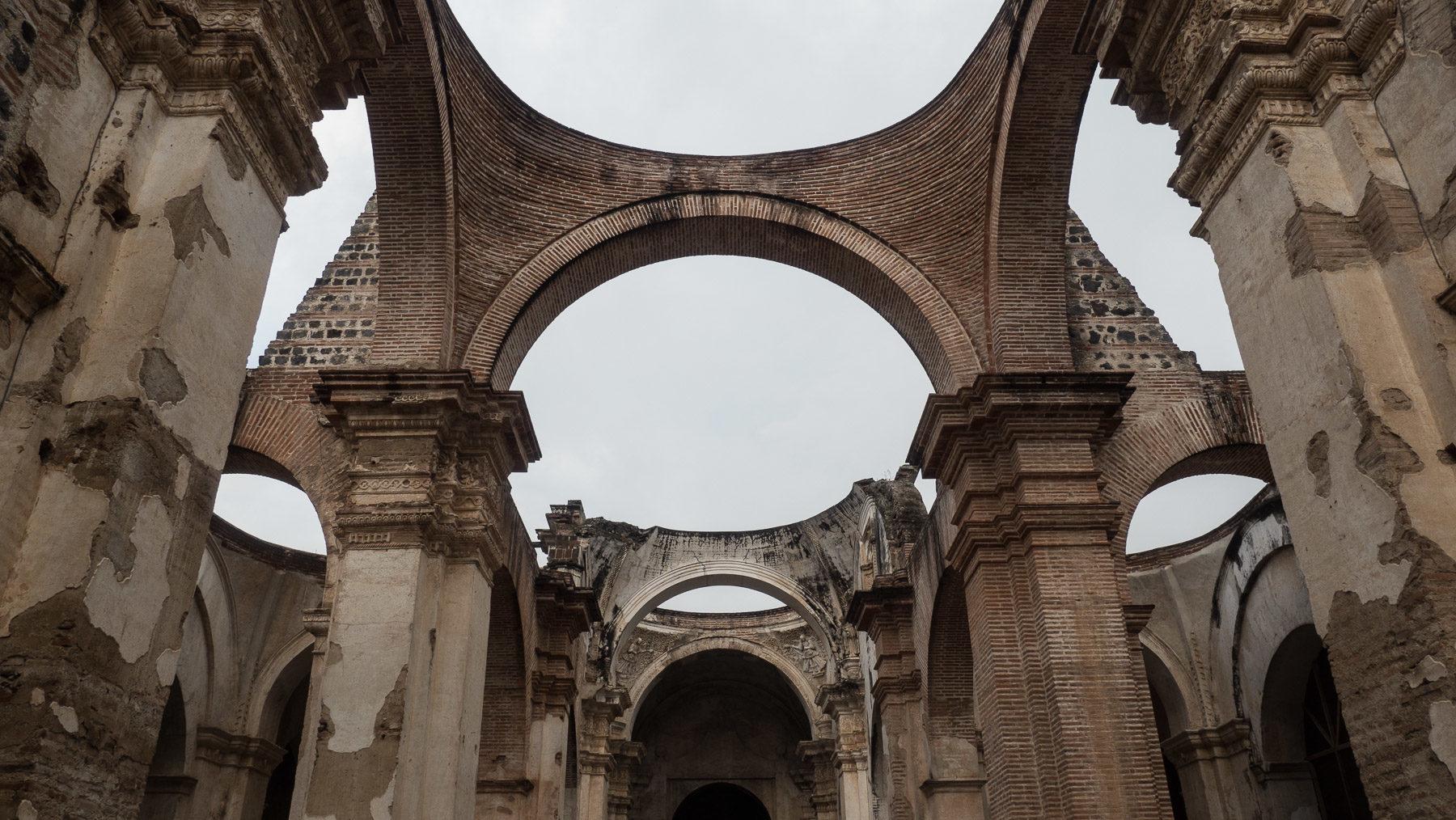 Die Ruine der Kathedrale San Josè