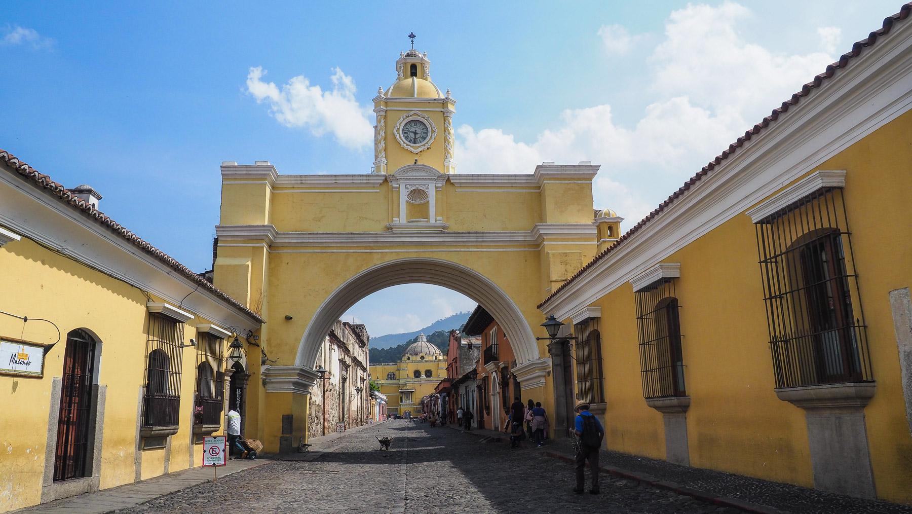 Wahrzeichen von Antigua, Arco de Santa Catalina
