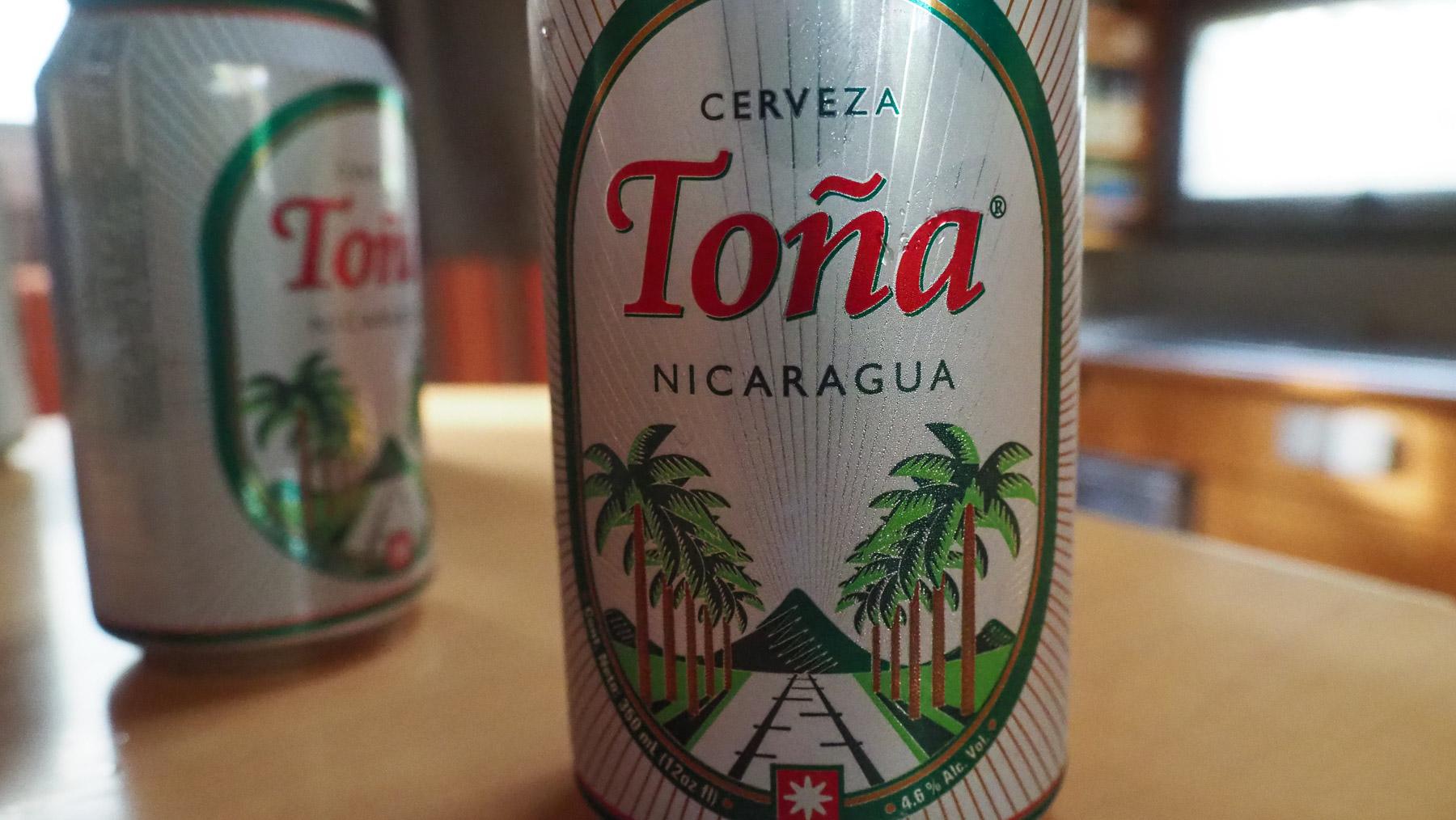 Abschied auch vom guten Bier in Nicaragua
