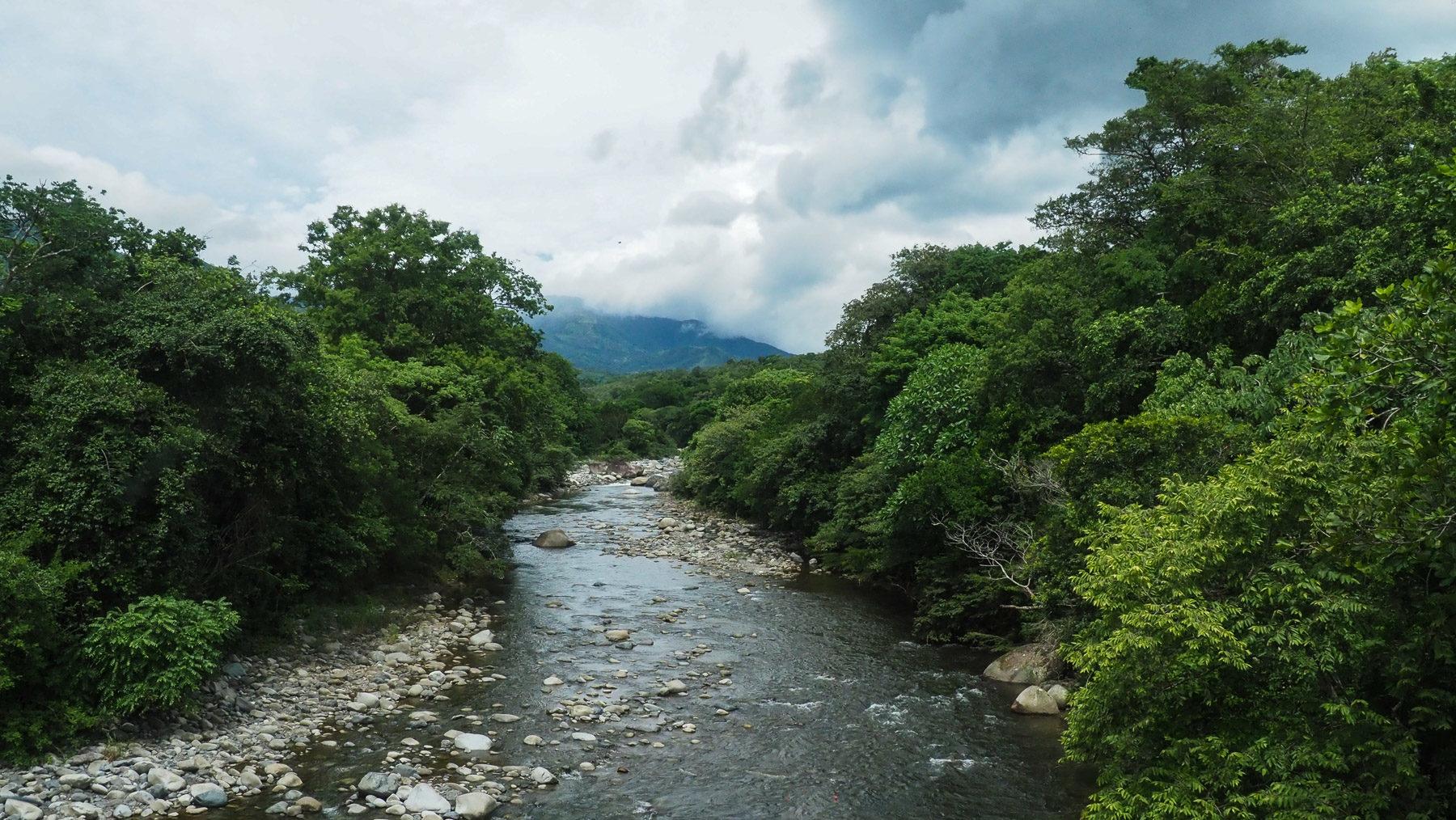 Einsame, wilde Gegend  hier im entlegenen Bocas del Toro
