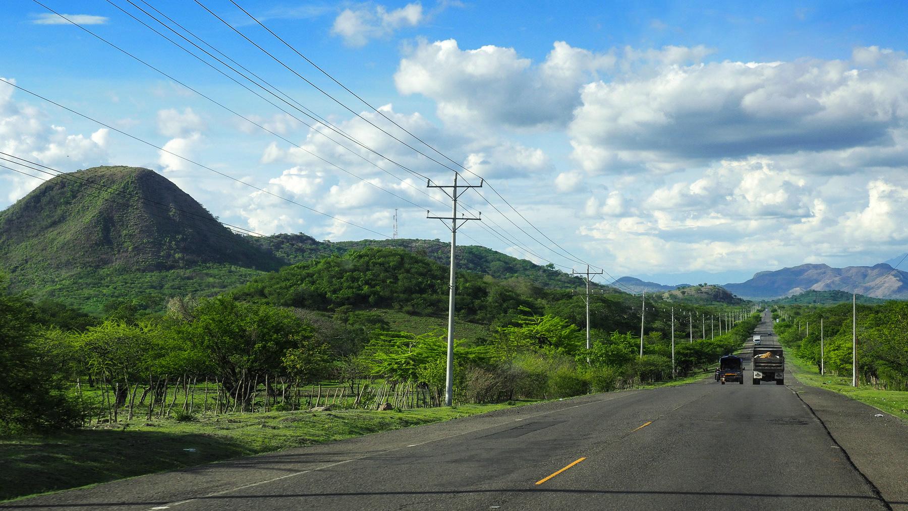 Honduras: kurze Durchquerung auf der Panamericana ohne Straßenblockaden