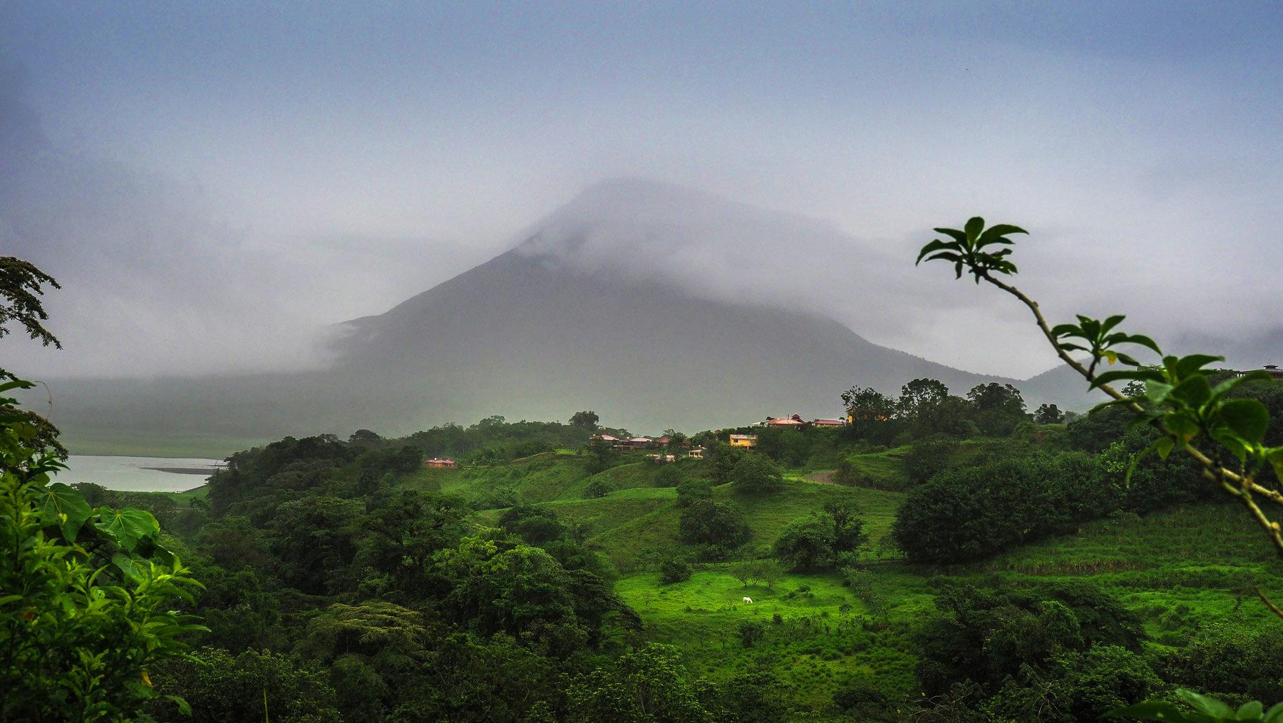 Der Vulkan Arenal, war in seiner aktiven Phase was Besonderes