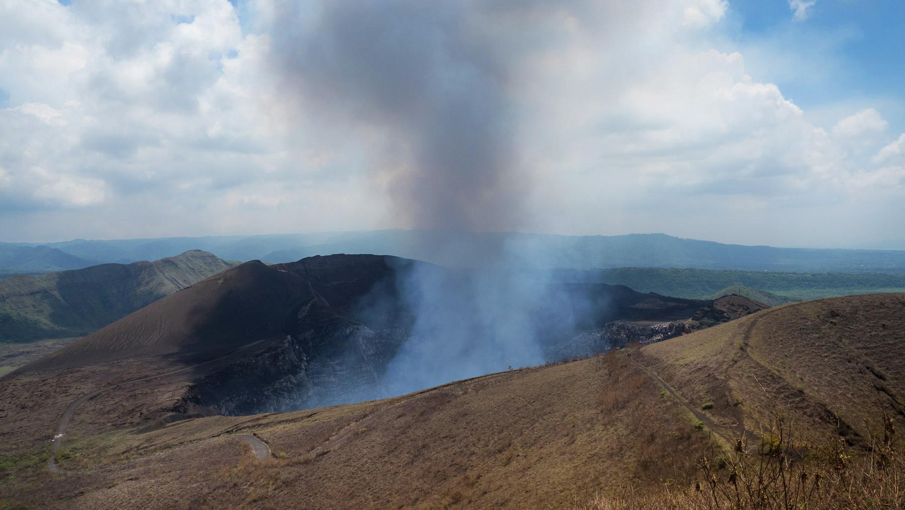 Ein absolutes Highlight: der sehr aktive Vulkan Masaya