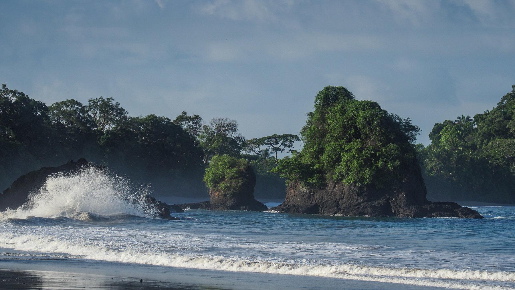 Die wilde Küste des NP Manuel Antonio
