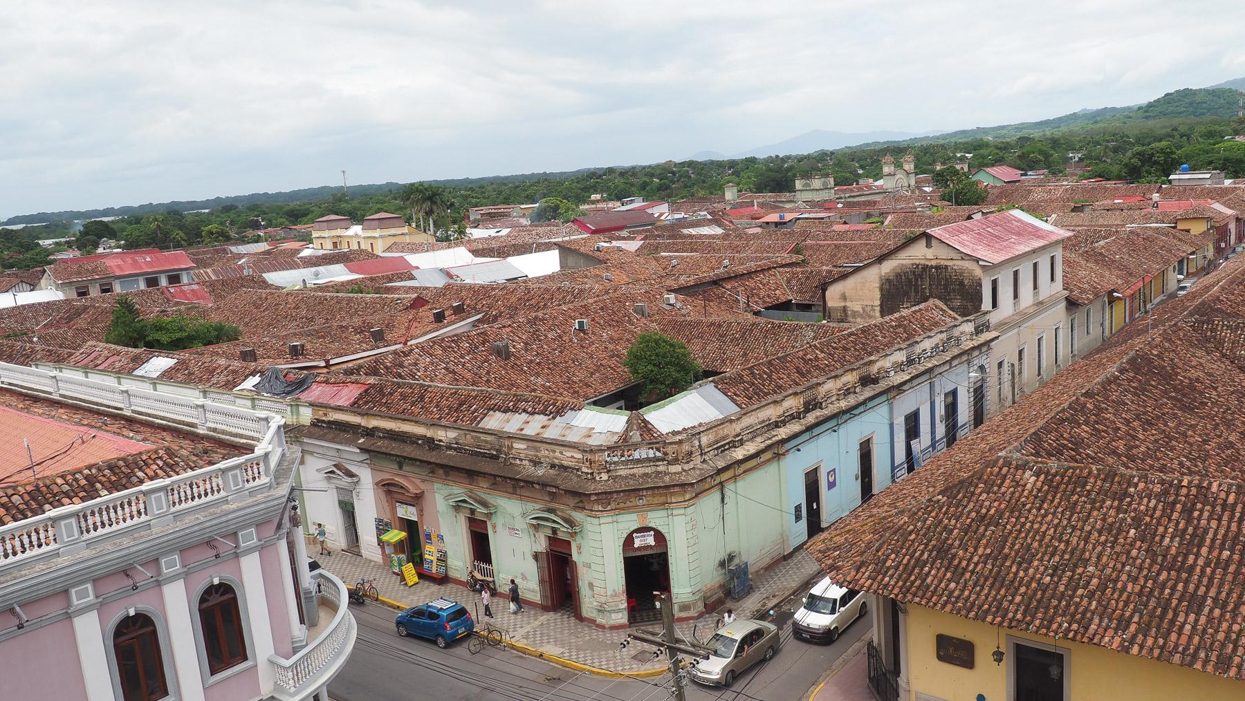Hübsches Städtchen Granada am Nicaragua See