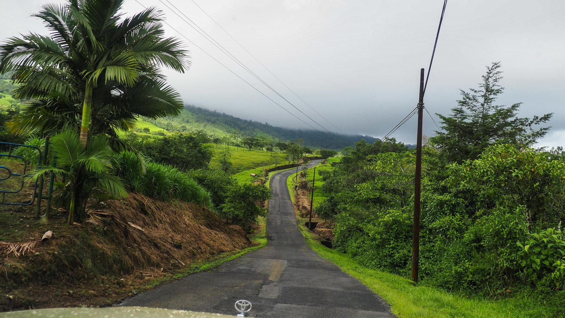 Auf dem Weg in die wolkenverhangene Karibik