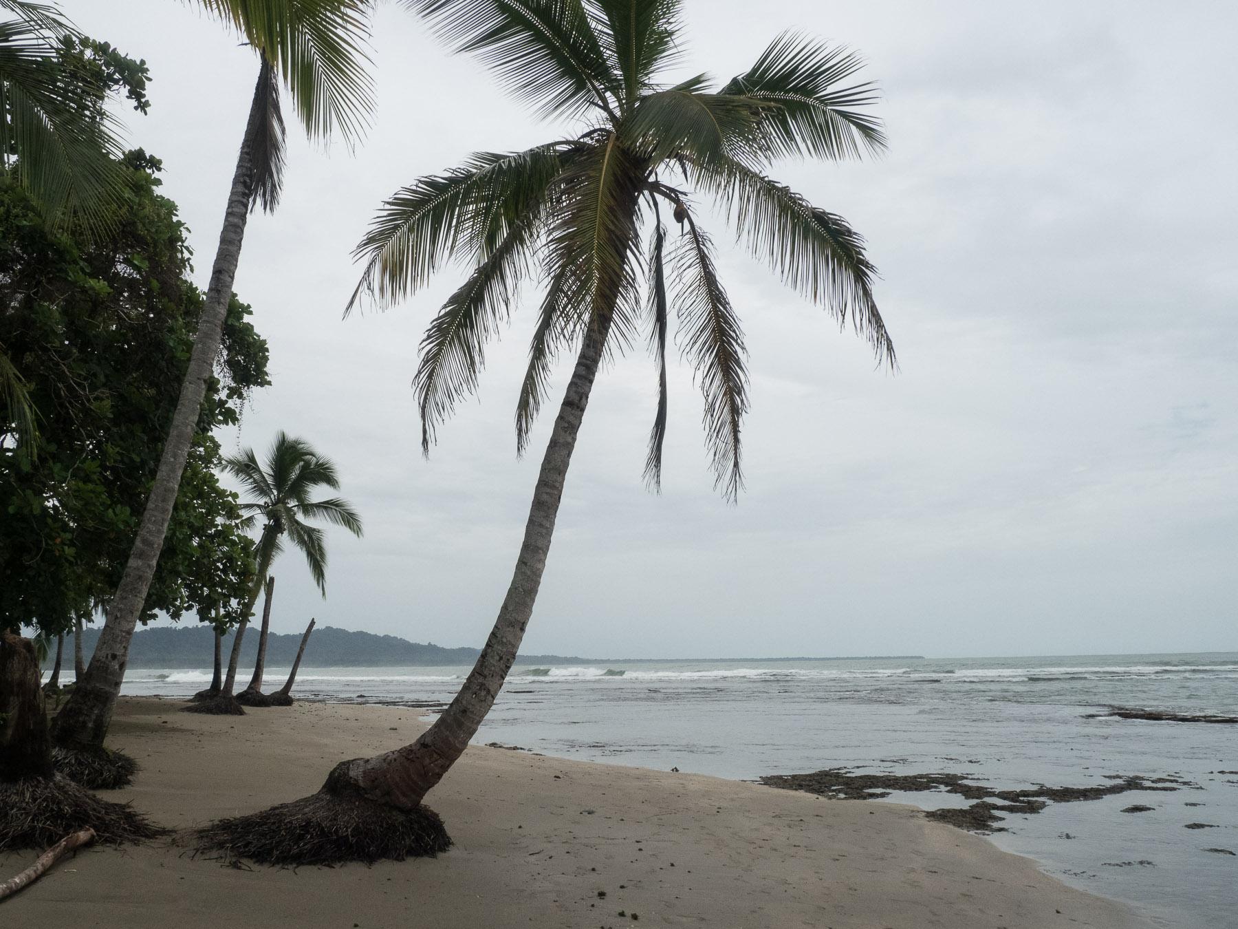 Melancholische Stimmung am Strand