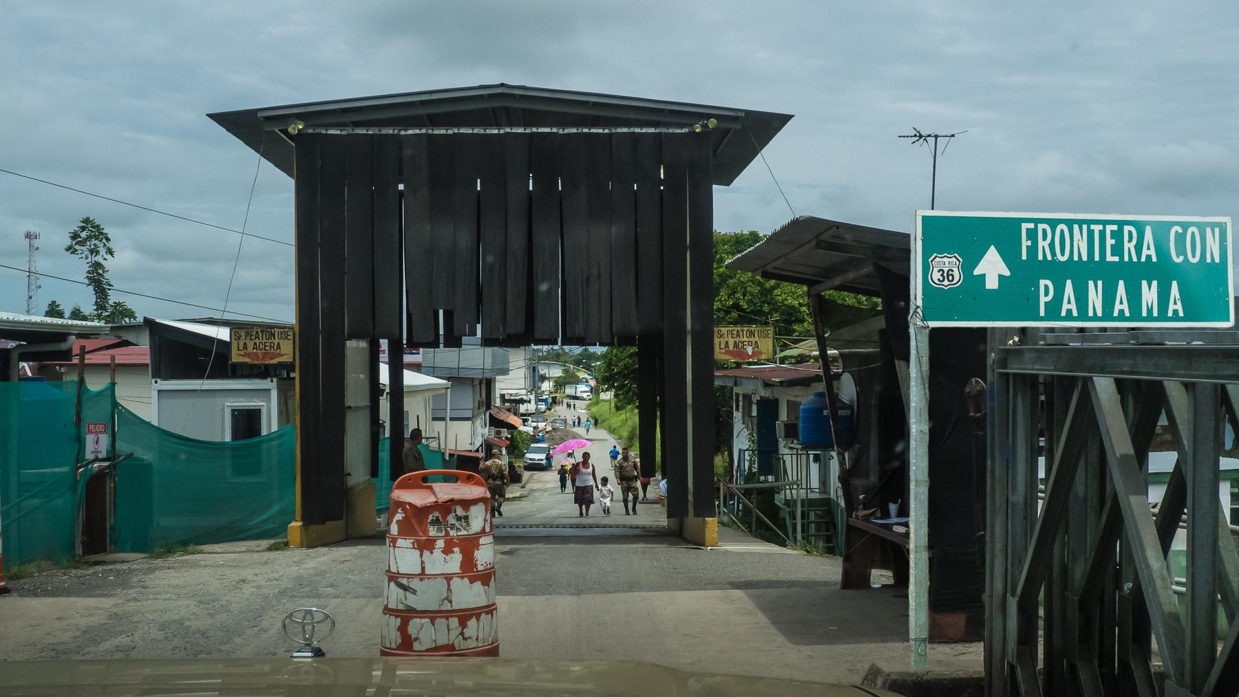 Grenzübergang nach Panama