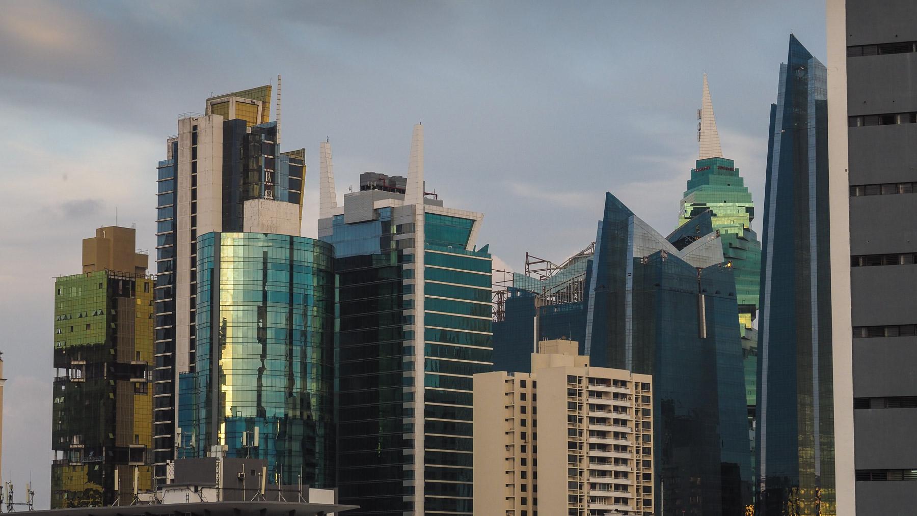 Kleiner Teil der Skyline