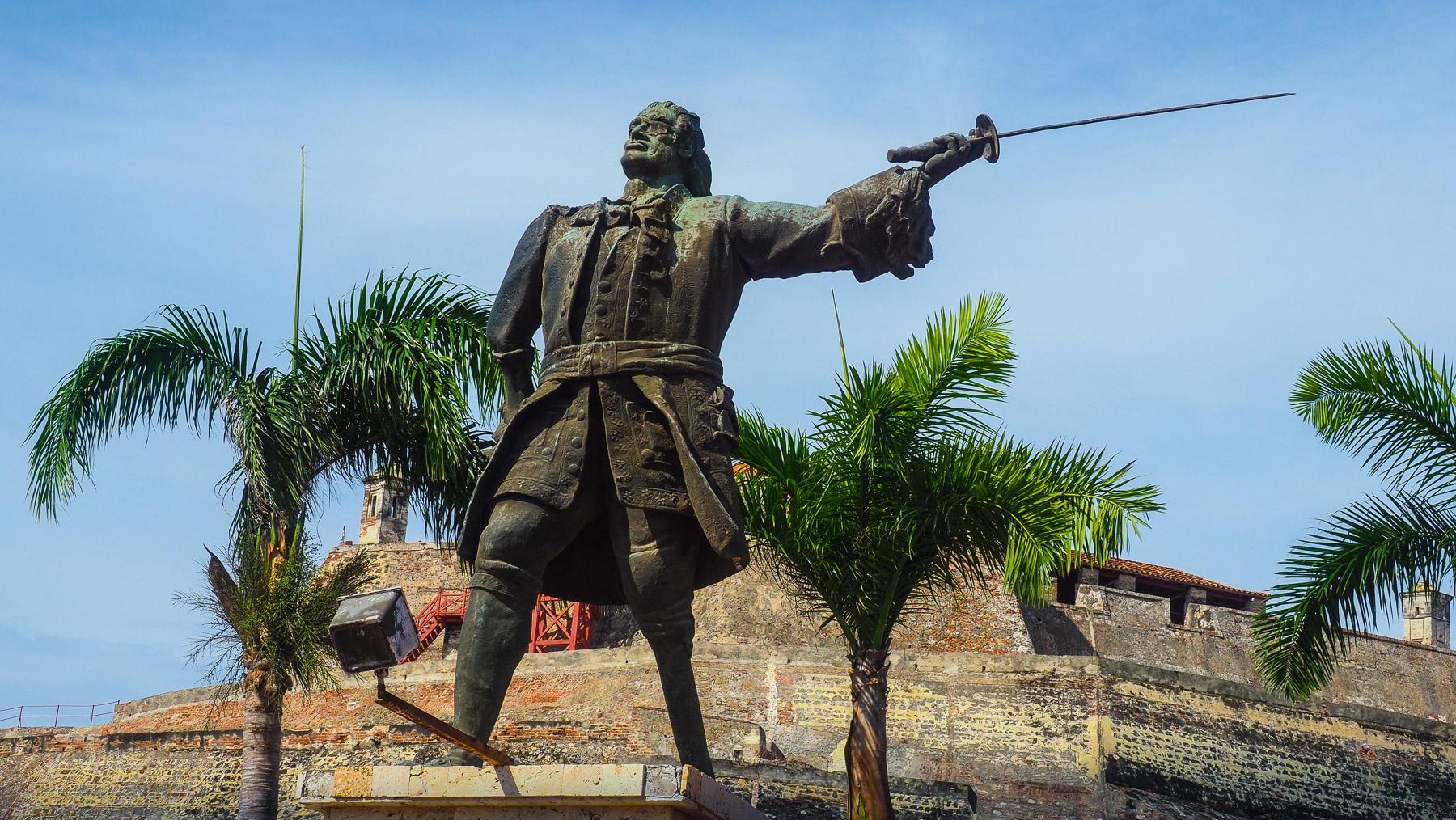 Don Blas de Lezo, 1 Bein, 1 Arm, 1 Auge, besiegte 1741 eine englische Armada mit 186 Schiffen – was für ein Held