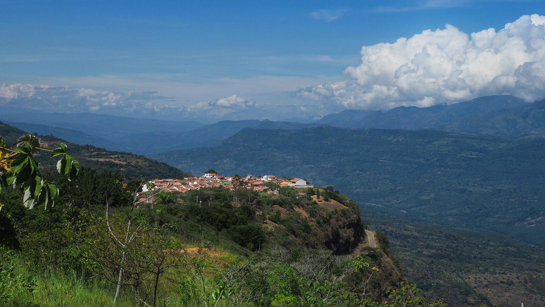 Barichara, idylisches Bergstädtchen