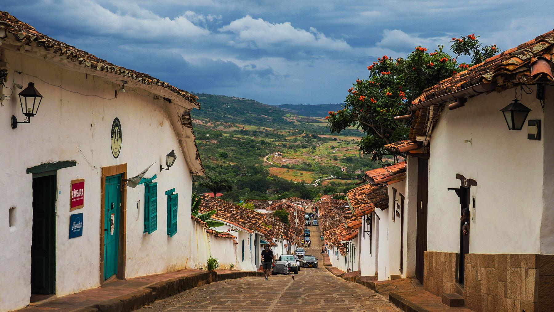 Eines der schönsten kleinen Kolonialstädtchen in Kolumbien