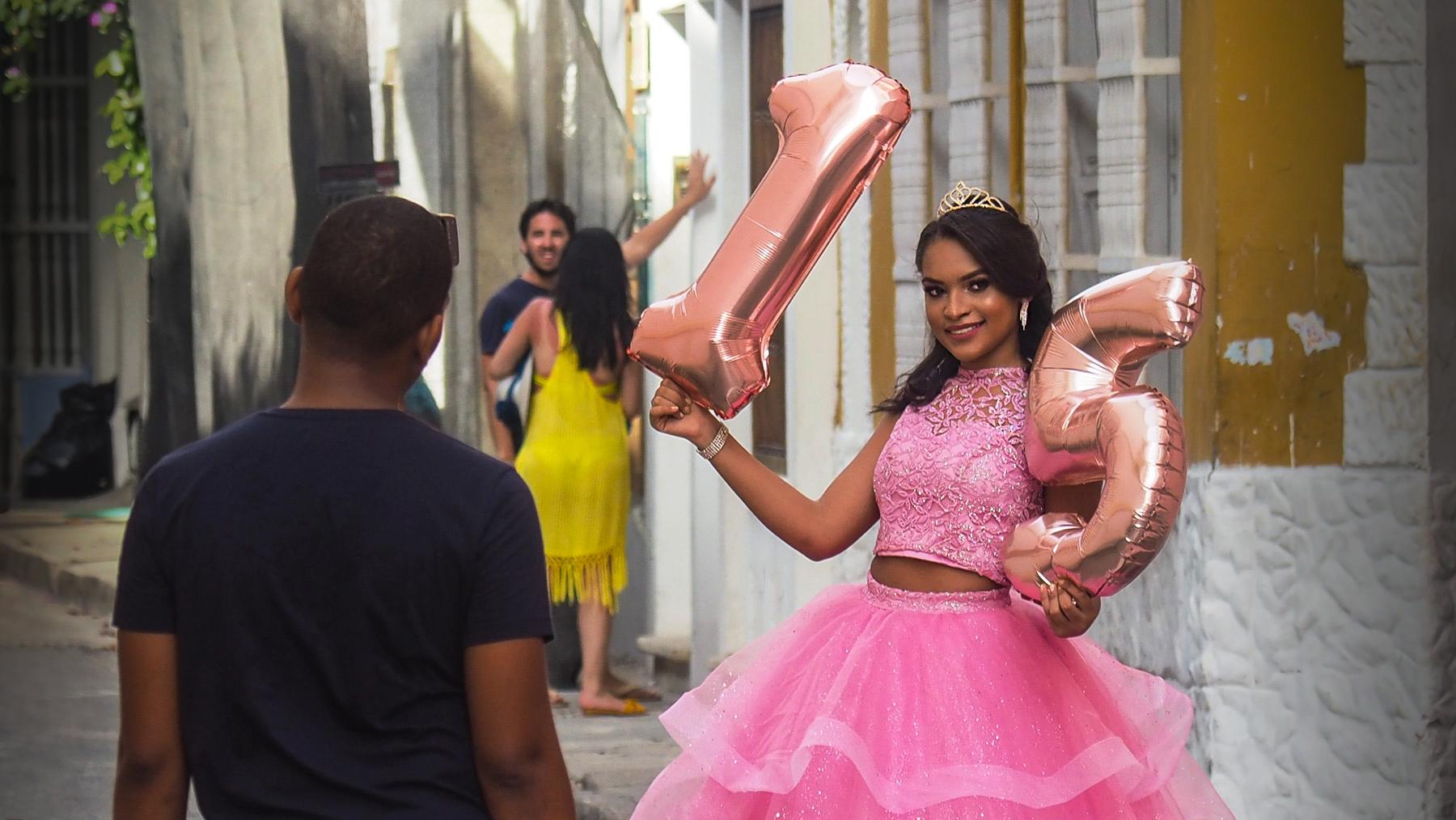 Quinceanera, ein großes Fest für die 15jährigen Mädchen