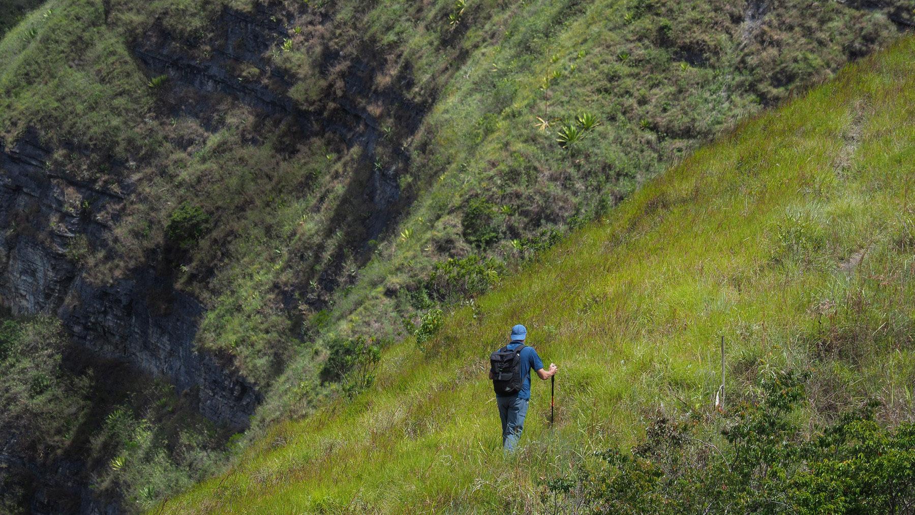 Schöne kleine Wanderung am Paso del Angel