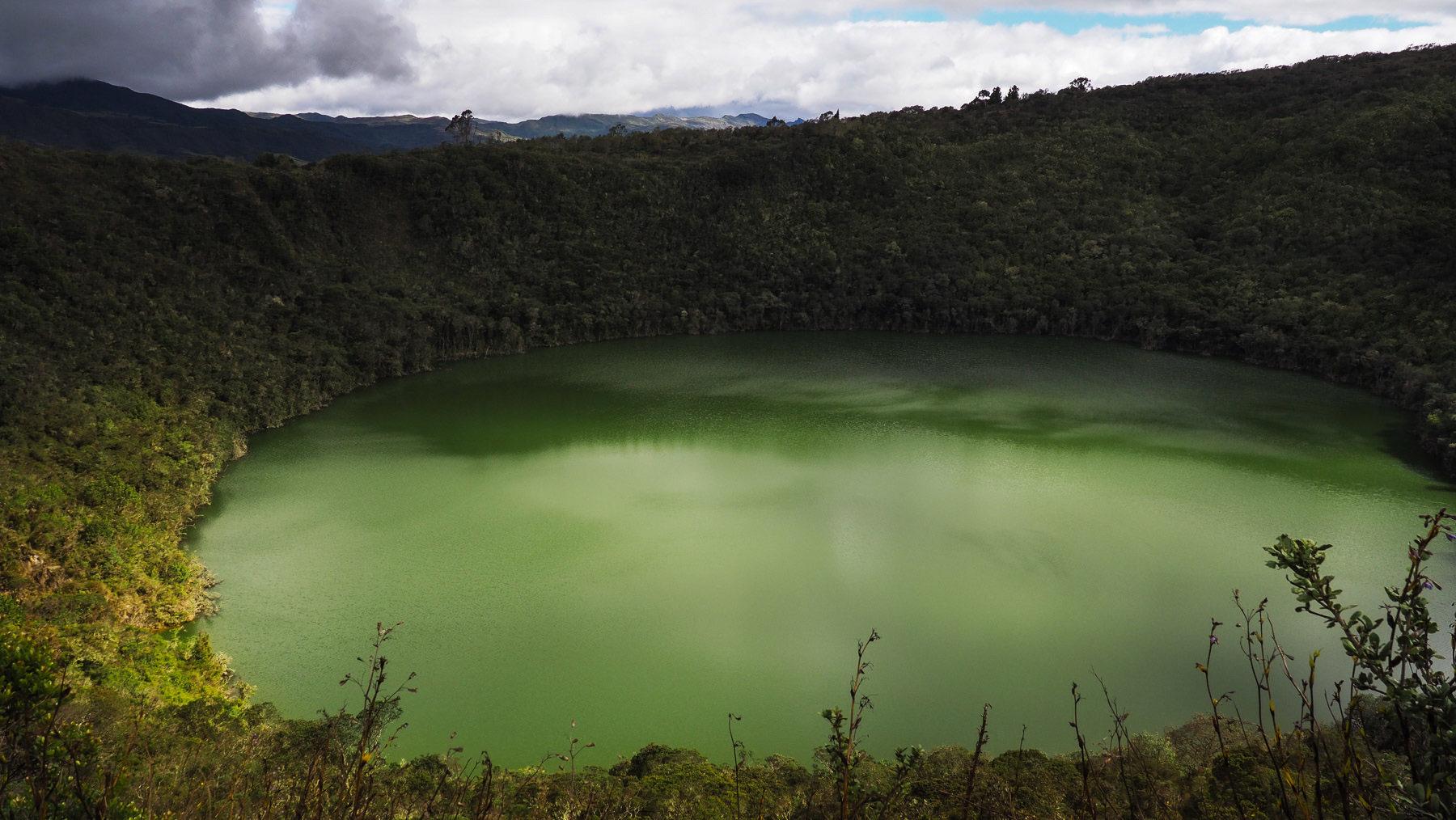 Wanderung zum mystischen heiligen See der Muiscas – Laguna de Guatavita