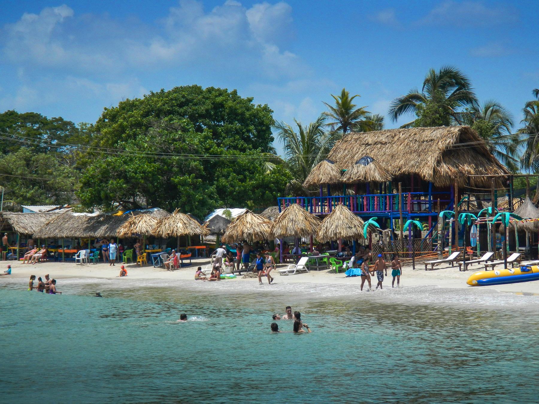 Karibisches Inselleben auf den Islas del Rosario