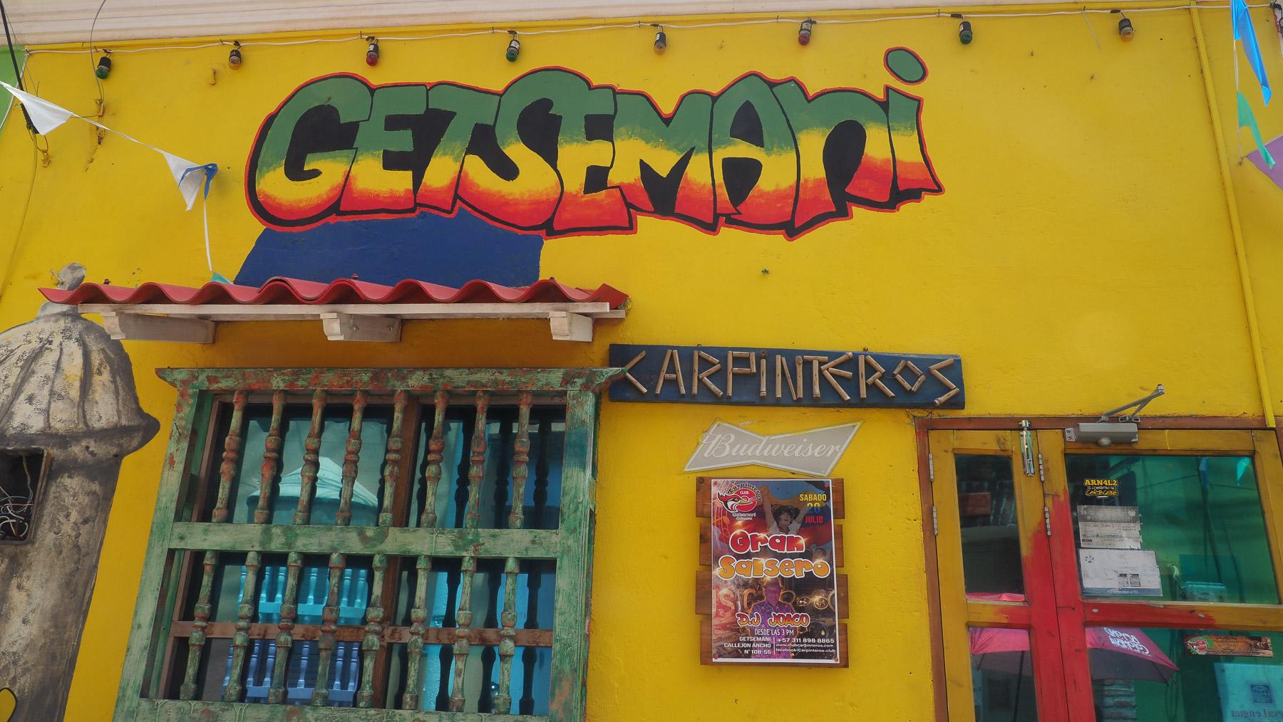 Getsemani, das Viertel der kleinen Leute und Handwerker und des Salsas