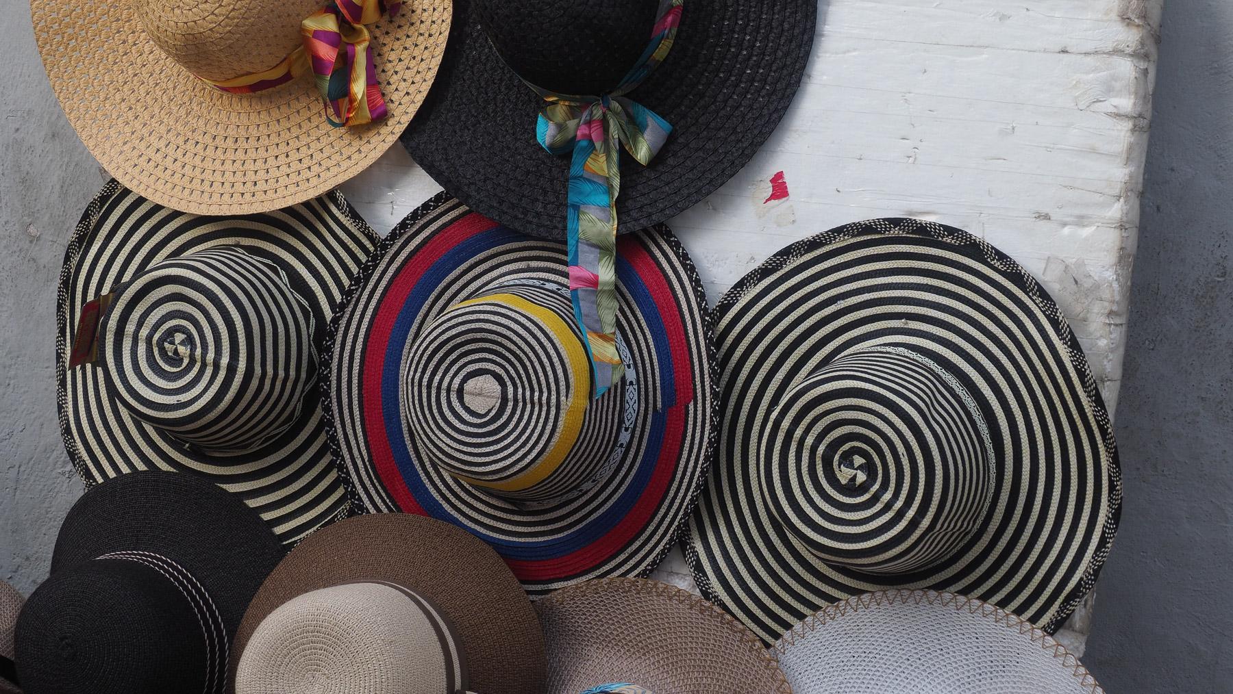 Ein Strohhut muß sein in Cartagena