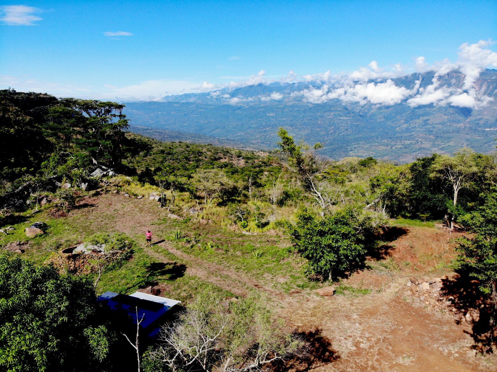 Weiter Blick von der Guaimaro Campsite