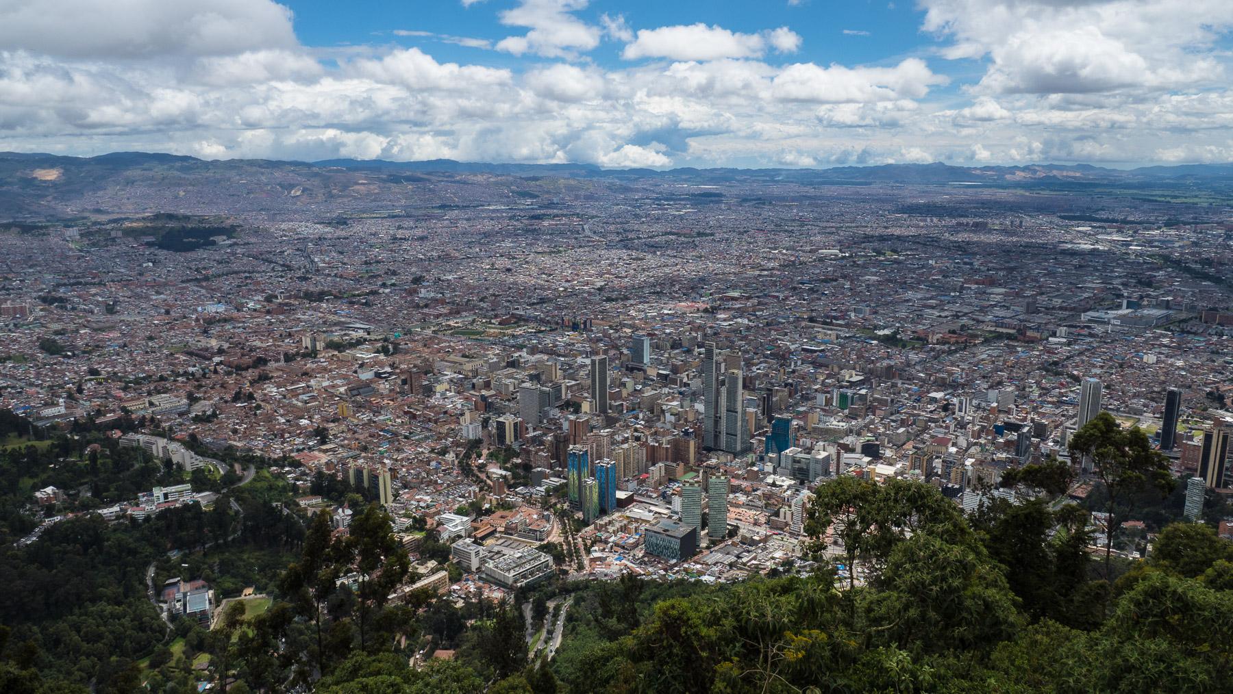 Bogota - Blick vom Monteserrate