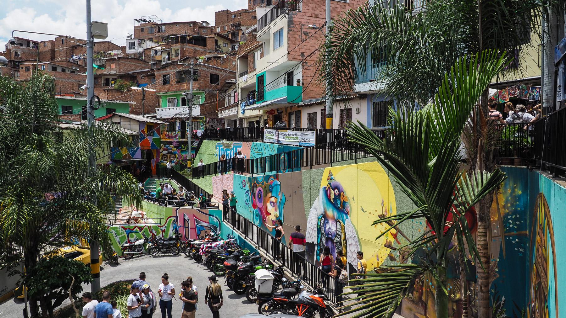 Comuna 13 - natürlich gewachsen