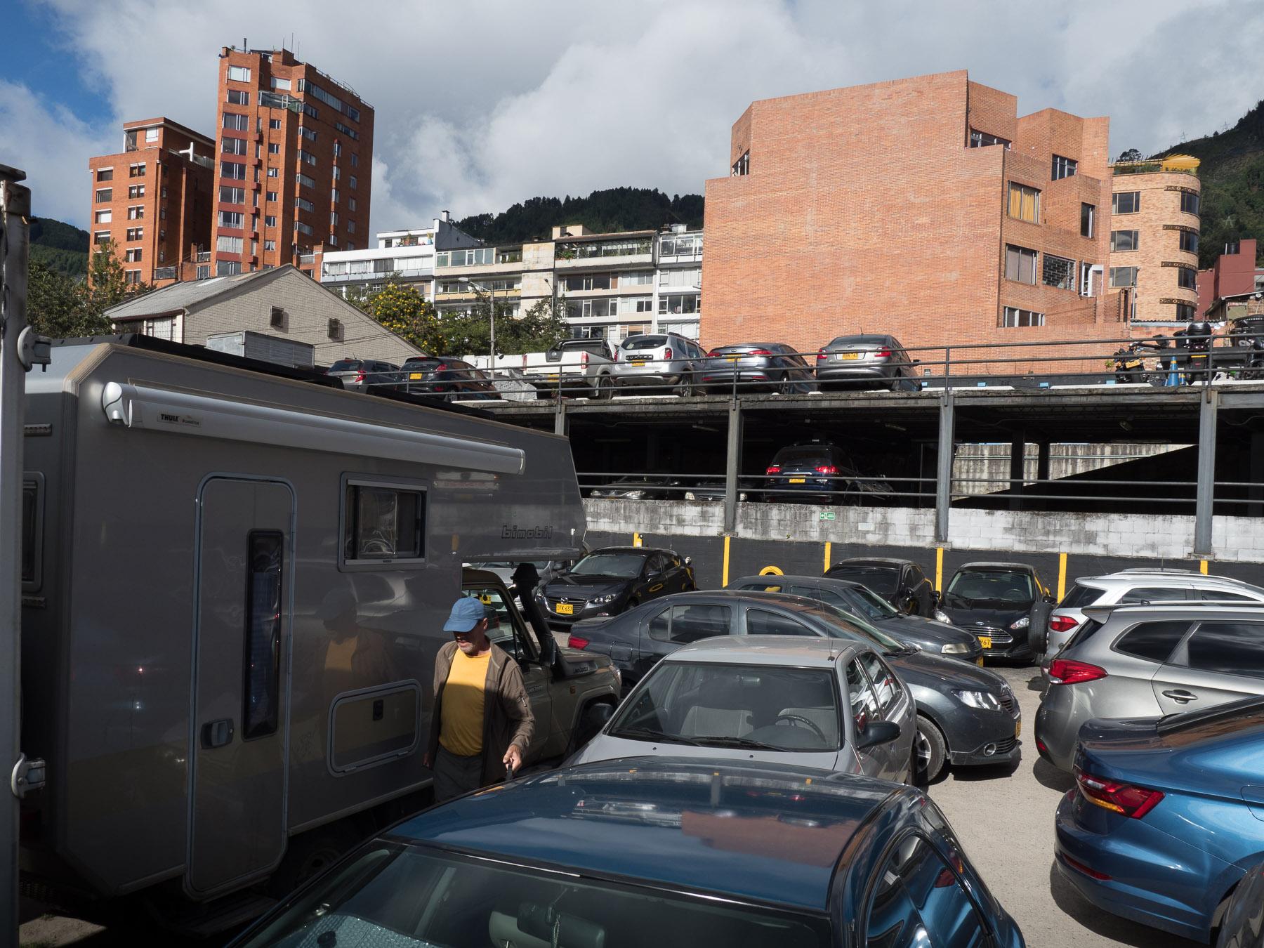 Parkplatz Parqueo Macarena