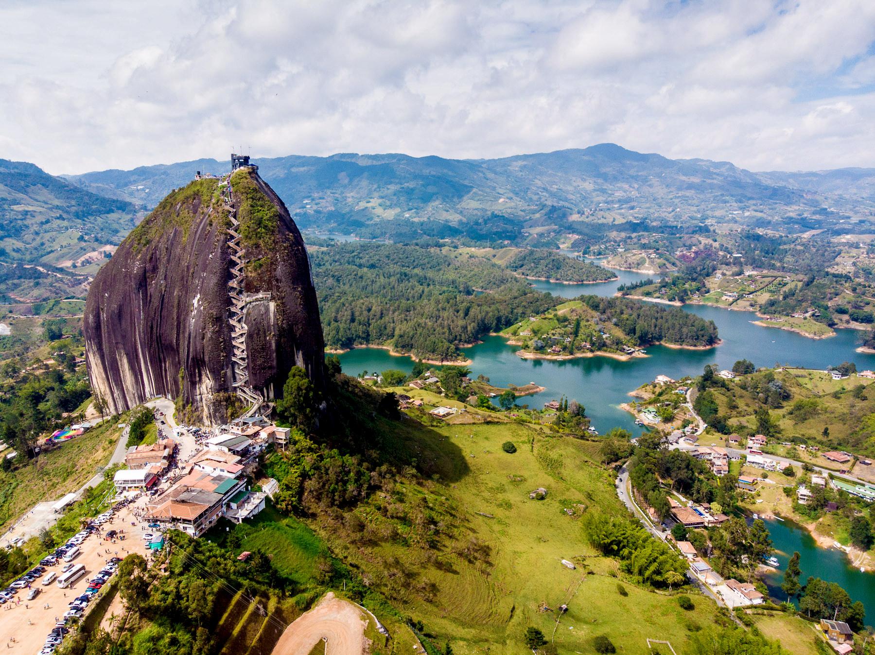 Besuchermagnet: Piedra de Penol