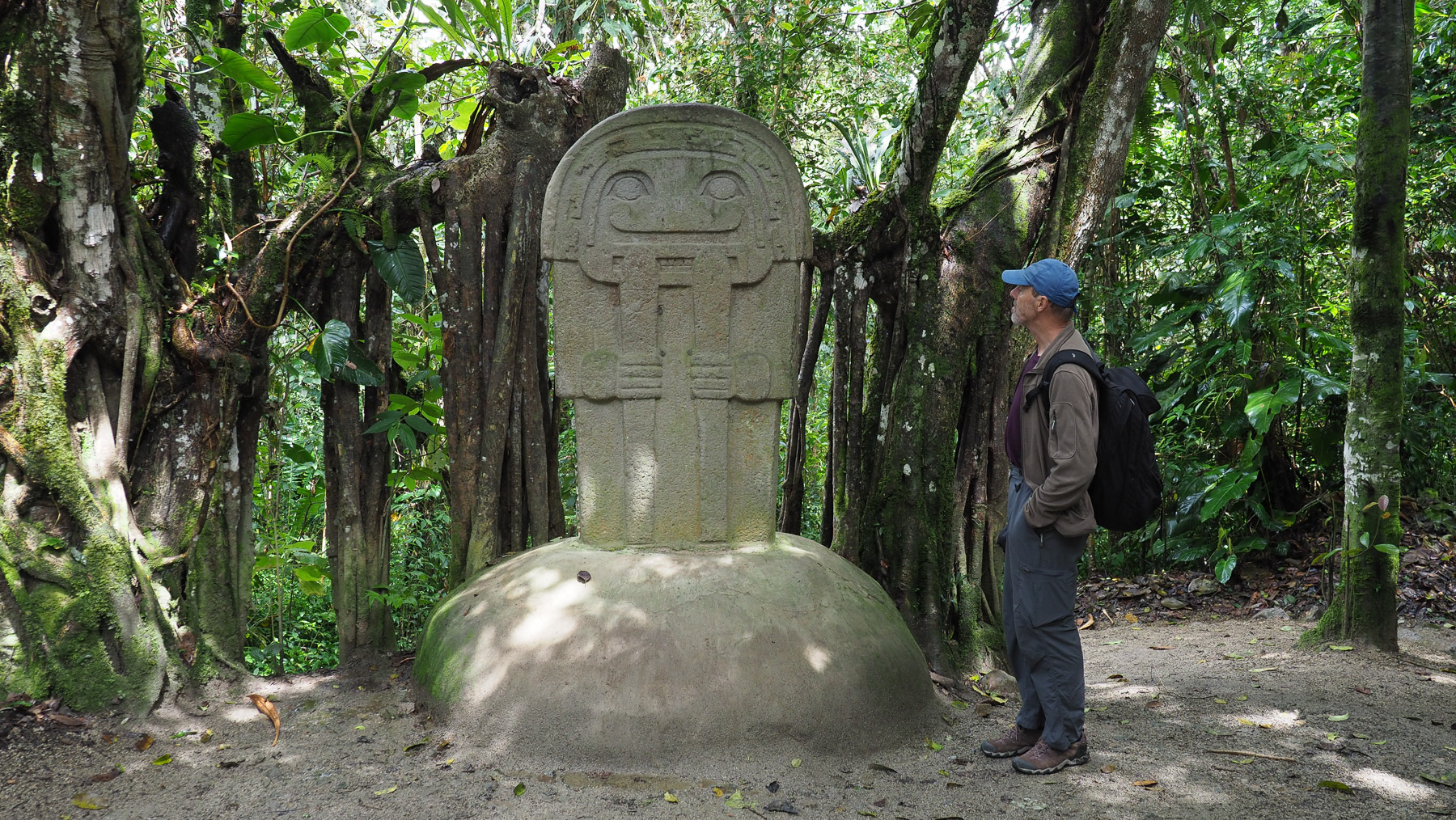 Die präkolumbianischen Skulpturen sind höchst unterschiedlich